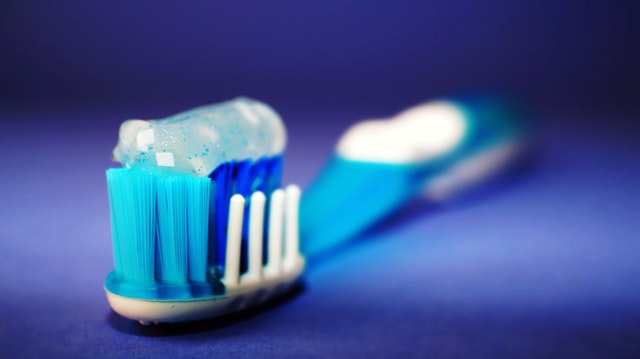 brush your teeth twice a day